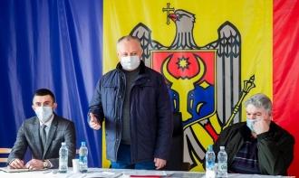 Igor Dodon a vizitat satul Cotova din raionul Drochia