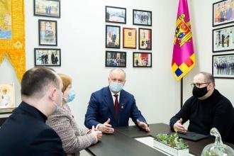 Igor Dodon: S-a luat decizia de a elabora un nou proiect de lege cu privire la funcționarea limbilor