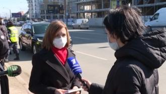 Maia Sandu, întrebată despre 650 mii lei pentru restaurante și banchete: E o normalitate (VIDEO)