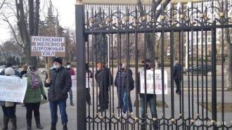 Protest la Președinție: Angajații Căii Ferate nu au fost auziți de către șefa statului