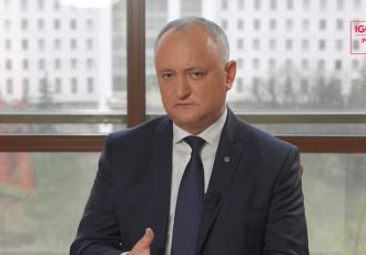 Soluția la blocajul politic poate fi doar în baza dialogului, spune Igor Dodon