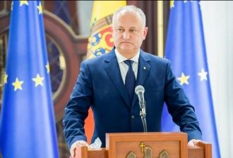 Dodon: Anunțul Marianei Durleșeteanu a fost o surpriză