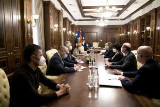 Criza pandemică și securitatea alimentară a țării, discutate la o ședință convocată de Greceanîi
