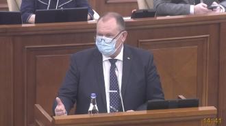 Ciocoi, în plenul Parlamentului: Nu am văzut altă soluție, decât să vin cu propunerea de a institui starea de urgență