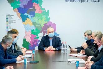 Necesitățile oamenilor și localităților din centrul țării, au fost analizate la o ședință convocată de Igor Dodon cu membrii de partid din regiune
