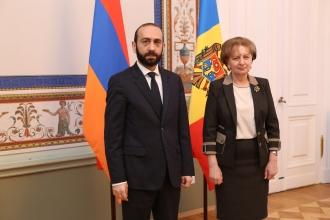 ZINAIDA GRECEANÎI A DISCUTAT CU PREȘEDINTELE ADUNĂRII NAȚIONALE A REPUBLICII ARMENIA