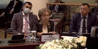 ZINAIDA GRECEANÎI A ȚINUT UN DISCURS LA CONFERINȚA INTERNAȚIONALĂ ÎN PROBLEMA PROVOCĂRILOR GLOBALE ALE PANDEMIEI