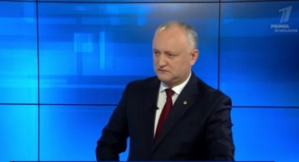 Igor Dodon: Mă tem să nu ne atragă Maia Sandu în război regional