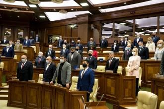 Parlamentul a ținut un minut de reculegere în memoria deputatului Ludmila Guzun