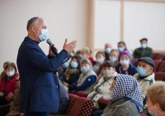 Igor Dodon: Inițiativele sociale PSRM, votate de Parlament, sunt în interesul oamenilor
