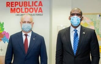 Igor Dodon și ambasadorul SUA la Chișinău au avut o întrevedere de lucru
