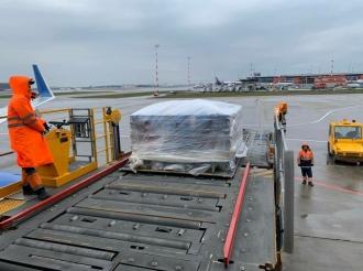 EXCLUSIV FOTO! Avionul rusesc cu al doilea lot de vaccin Sputnik V ajunge la Chișinău în jurul orei 19.00