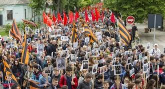 De 9 mai, din Piața Marii Adunări Naționale va porni Marșul Victoriei