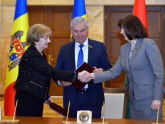 Greceanîi a semnat o Declarație de colaborare cu Adunarea Națională a Republicii Belarus