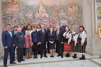 Greceanîi s-a întâlnit cu reprezentanții diasporei moldovenești din Belarus