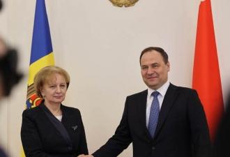 Moldova și Belarus își vor intensifica eforturile pentru valorificarea deplină a potențialului de cooperare în diverse domenii