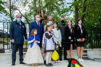 Igor Dodon și Oleg Vasnețov au participat la deschiderea oficială a Complexului Memorial, renovat recent, din Speia
