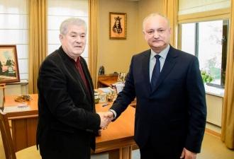 Igor Dodon și Vladimir Voronin au semnat documentul oficial de creare a Blocului Electoral