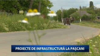 Proiecte de infrastructură la Pașcani