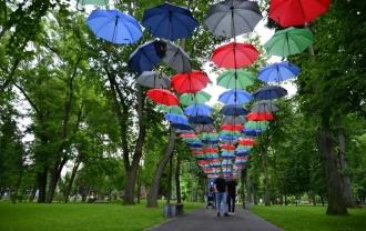 Festivalul umbrelelor la Chișinău