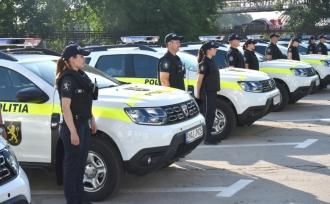Automobile noi pentru poliție