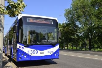 O nouă linie de troleibuz în Capitală