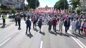 """Aproape 20 de mii de cetățeni participă la marșul """"Iubim Moldova"""""""