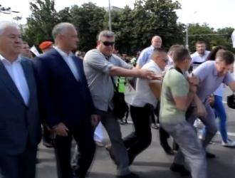 Igor Dodon: Chirtoacă și alde dânsul au fost și rămân emblema dreptei în Moldova. Emblema haosului, a bădărăniei, a furtului miliardului
