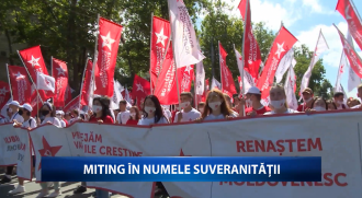 Miting în numele suveranității (VIDEO)