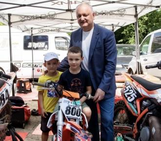 Igor Dodon a participat la deschiderea primei etape a Campionatului de Motocros din Moldova