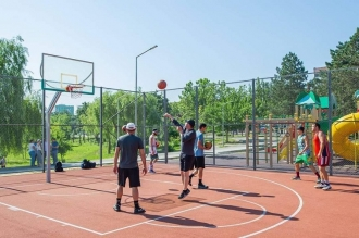 Parc modernizat în Capitală
