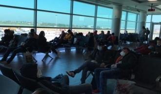 Blocați într-un aeroport din Bulgaria