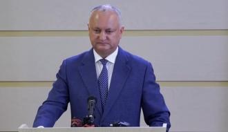 Igor Dodon: Ceea ce se întâmplă în Parlament este un exemplu prost pentru democrație