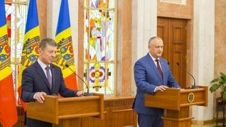 Igor Dodon, despre întrevederea cu Dmitri Kozak: Rusia rămâne a fi partenerul strategic al R. Moldova