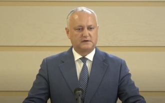Igor Dodon: Alexandr Stoianoglo a fost desemnat în calitate de candidat de catre Guvernul Maiei Sandu