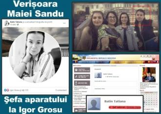 Guvernarea rudelor: O altă verişoară a Maiei Sandu a obținut o funcție publică la Parlament