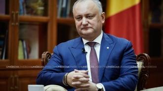 (interviu) Igor Dodon despre Republica Moldova la 30 de ani - Realizări, așteptări și regrete: E timpul pentru o politică exclusiv națională, pentru edificarea țării