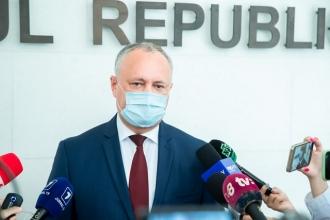 Igor Dodon, despre proiectele controversate, votate de PAS: Eu aștept cu interes reacția finanțatorilor externi la acest dezmăț politic