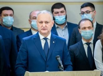 Dodon: Moldova are nevoie azi de o forță politică mai axată pe problema intereselor naționale