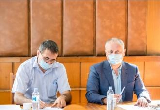 Igor Dodon: Voi continua să contribui la promovarea şahului în țara noastră