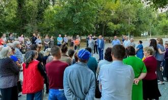 Sute de cetățeni au venit în parcul din Ceadîr-Lunga, la o întrevedere cu Igor Dodon
