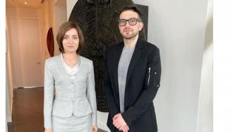 Maia Sandu, întâlnire SECRETĂ cu Alex Soros, fiul oligarhului George Soros, la New York