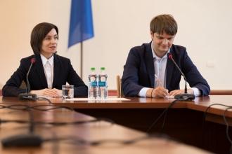 Maia Sandu: Nu este de competența Guvernului să negocieze prețul la gaz! Spînu: Sunt niște speculații