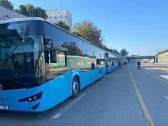 Încă 10 autobuze noi pentru suburbii