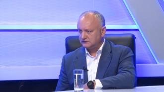 Igor Dodon: PAS va camufla prin mimarea luptei cu corupția procesul de anihilare a oponenților politici prin dosare la comandă