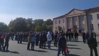Libertate lui Stoianoglo! La Comrat are loc un miting în susținerea Procurorului General