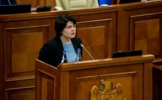 Natalia Gavrilița refuză să ofere cifre concrete cu referire la prețul cu care Guvernul urmează să procure gazul natural