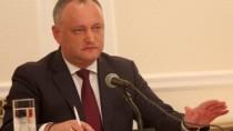 Igor Dodon vrea dizolvarea Parlamentului și alegeri parlamentare anticipate