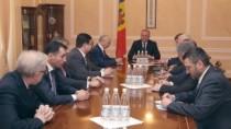 Președintele țării s-a întâlnit cu ambasadorii statelor ex-sovietice acredi ...