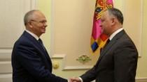 Evoluția relațiilor de colaborare moldo-ruse, discutate de Dodon și Muhamet ...